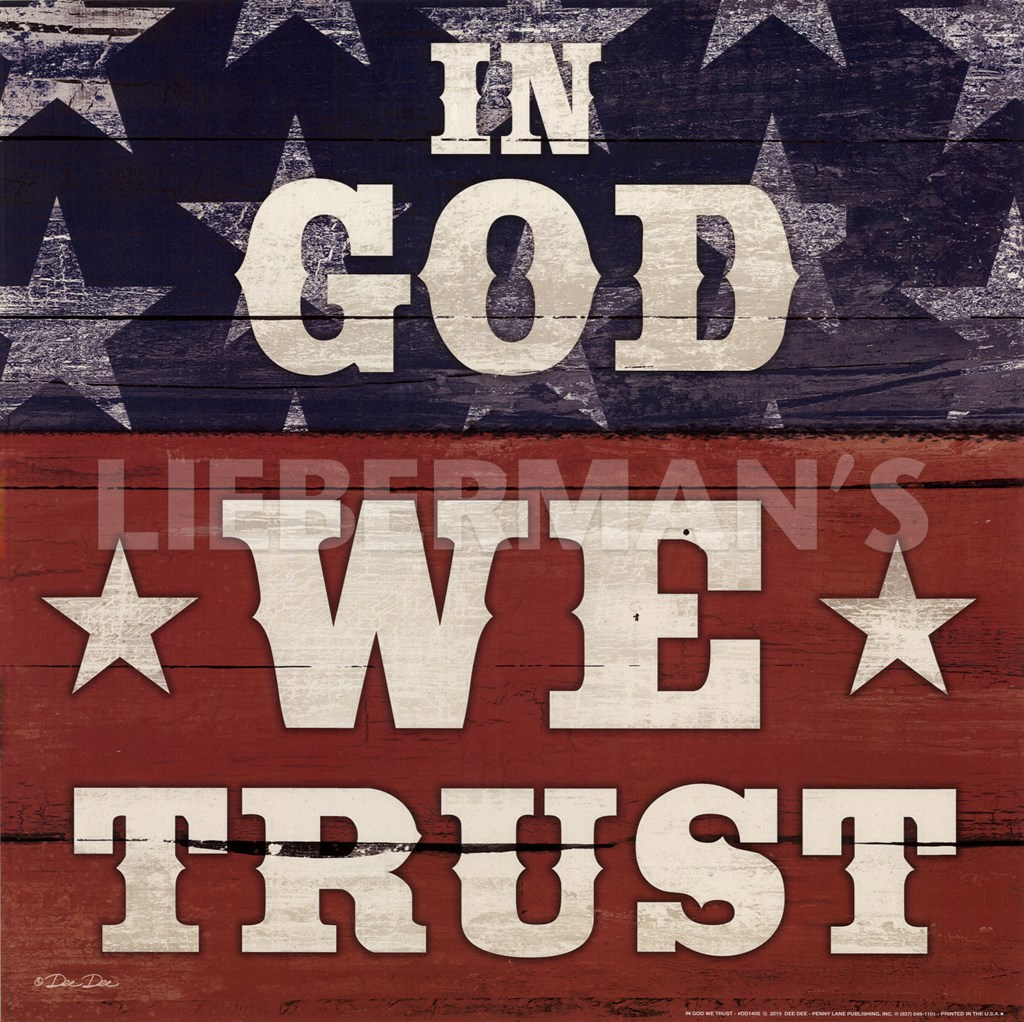 in god we trust In god we trust: all others pay cash is a novel by american humorist jean shepherd first published in october 1966 a best-seller at the time of its publication, it.